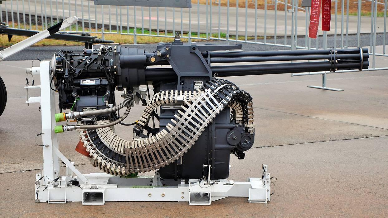 Оружие с вращающимся блоком стволов — википедия с видео // wiki 2