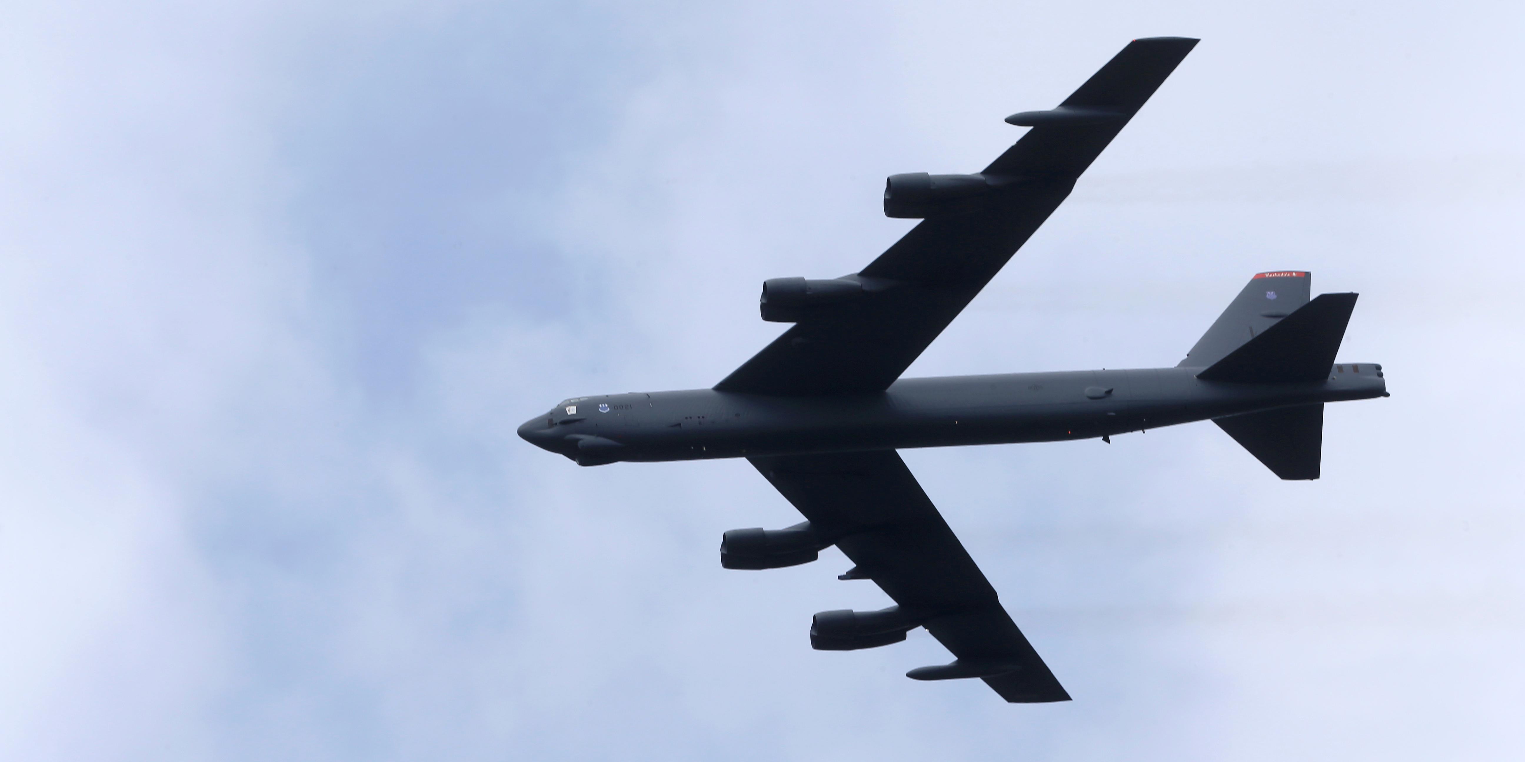 Бомбардировщик б-52 фото. видео. вооружение. ттх