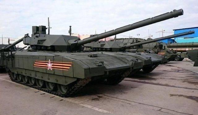 Россия провела испытания нового танка «армата» в сирии
