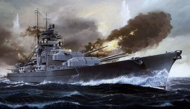 Линкоры типа «бисмарк» – 1939 год