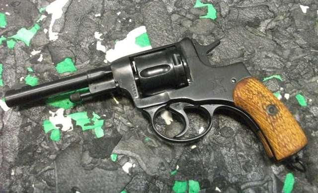 Револьвер nagant mle.1910