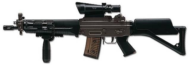 Модернизация штурмовой винтовки sg552 в sg553