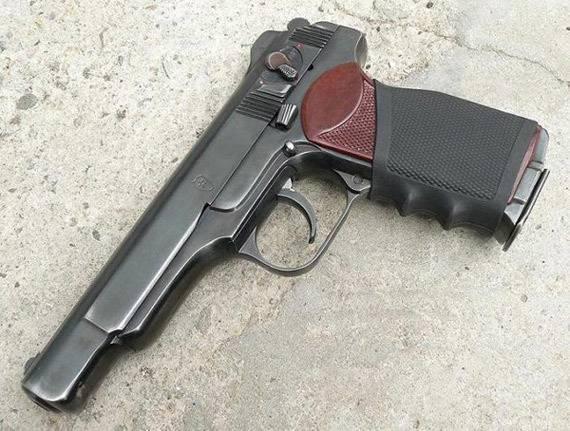 Автоматический пистолет стечкина википедия