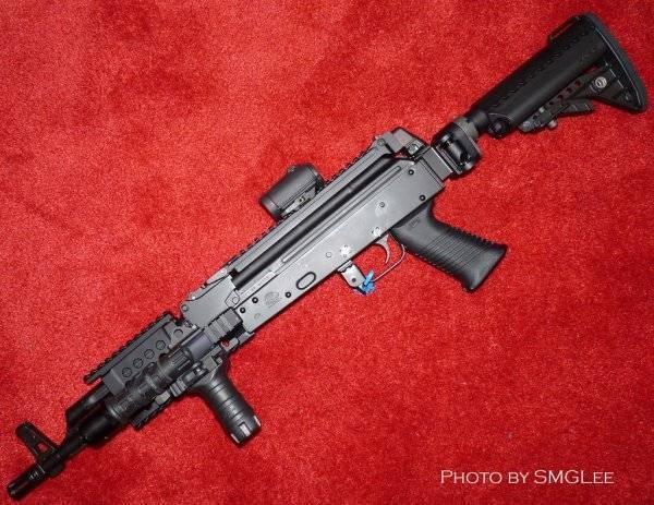 Самозарядный карабин Krebs Custom AK