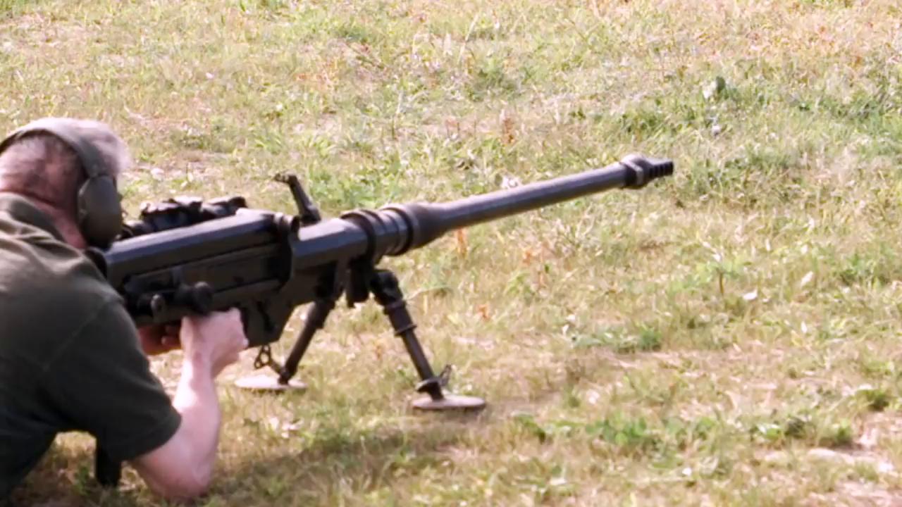 Противотанковое ружье solothurn s18 - как швейцария создала своего монстра.