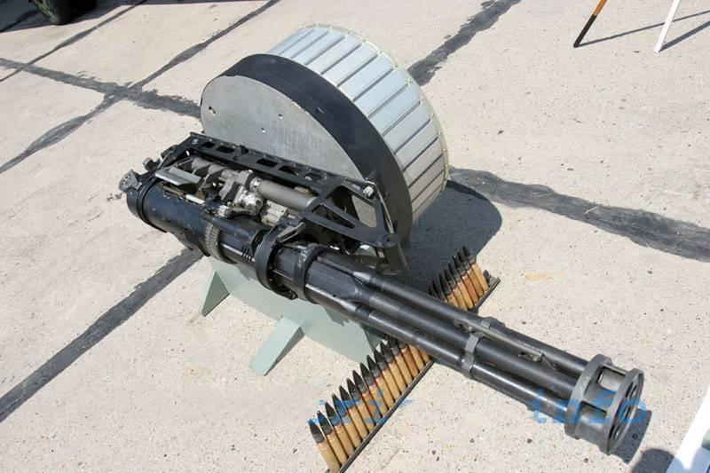 Карусель смерти: как устроен пулемет гатлинга
