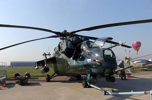 Ми-24 боевой ударный вертолёт (23фото)