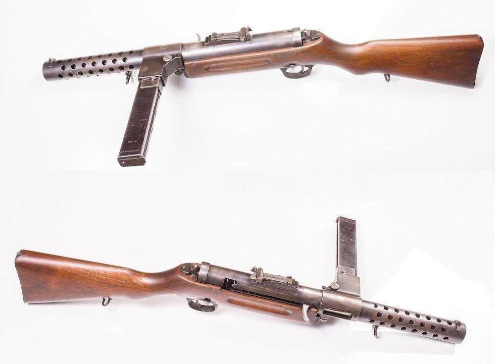 Пистолеты-пулеметы bergmann mp-35