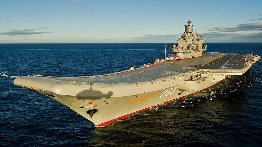 От а до я - тавкр «адмирал кузнецов» пр.1143.5