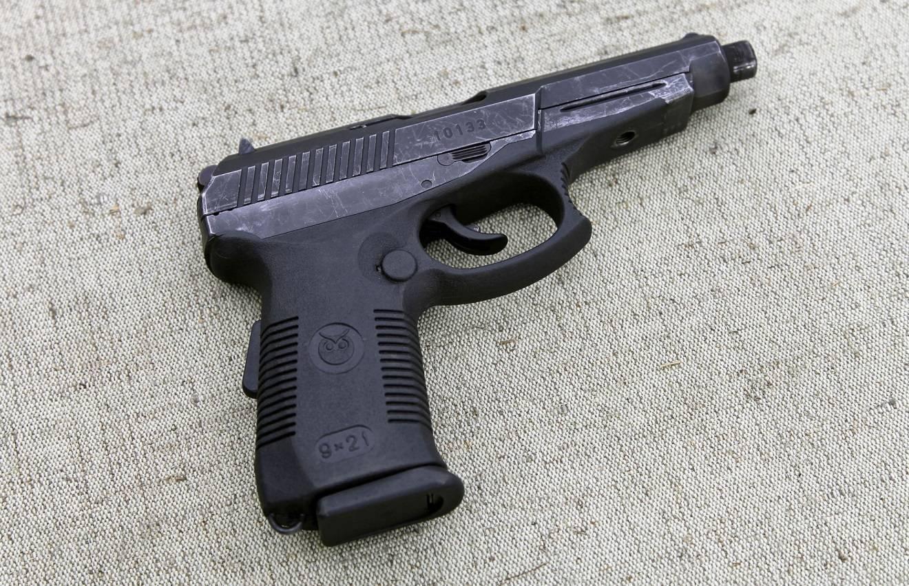 """Пистолет """"Гюрза"""" – гад в рядах правопорядка"""