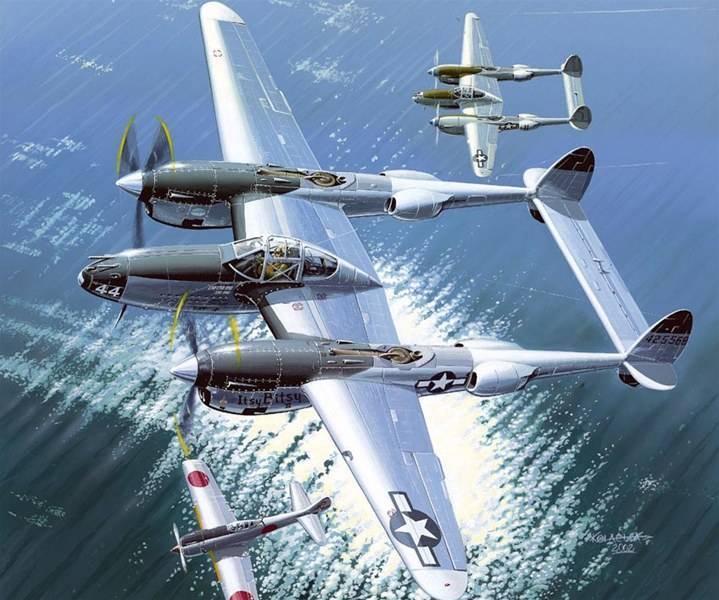 Lockheed p-38 lightning вики