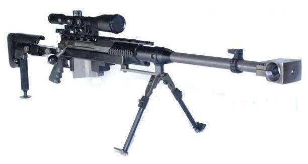 Galatz снайперская винтовка — характеристики, фото, ттх