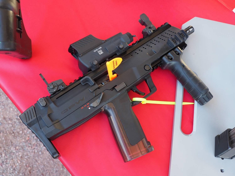 Пистолет-пулемет st kinetics cpw
