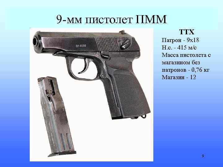 Пмм (пистолет) — википедия переиздание // wiki 2