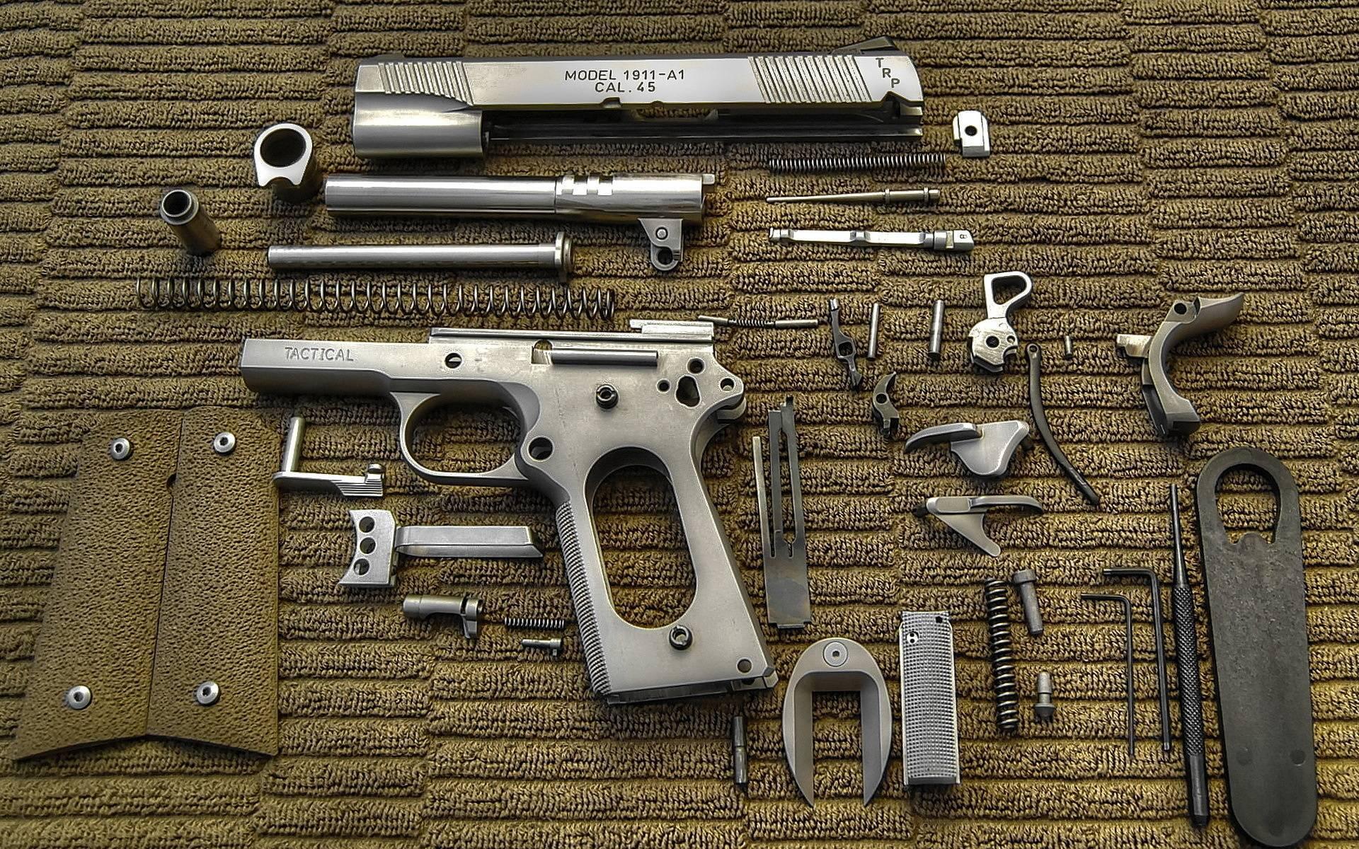 Colt M1911: самый известный американский пистолет в истории