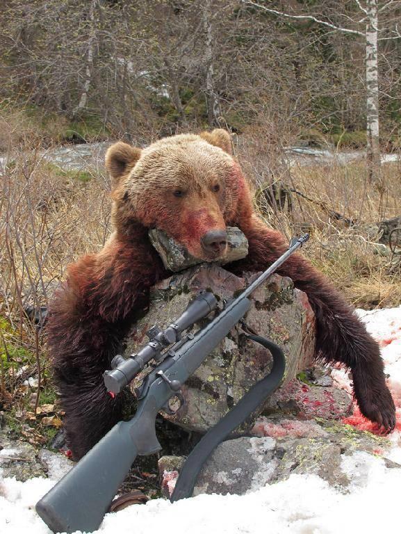Рогатина – лучшее оружие для охоты на медведя и кабана, если вы хотите адреналина