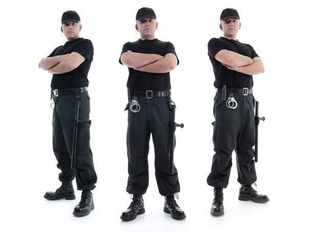 Применение наручников
