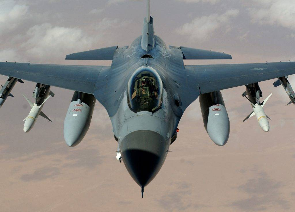 General dynamics f-16 fighting falcon - вики