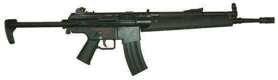 Штурмовая винтовка heckler & koch 416