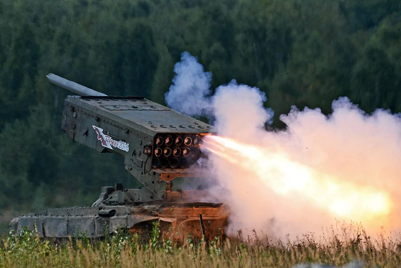 """""""буратино"""" зажигает. огнемет «буратино» – золотой ключик от позиций противника установка буратино"""