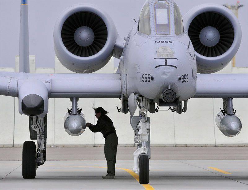 A-10 Thunderbolt II: основной штурмовик армии США