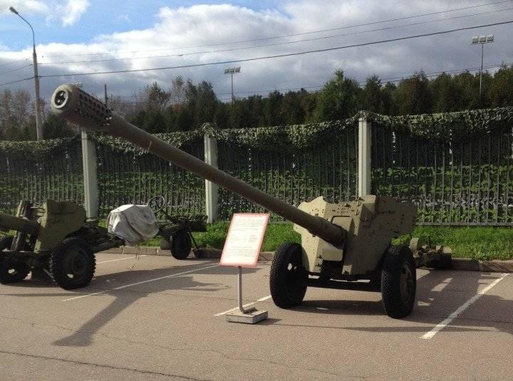 85 мм противотанковой пушки д-48 - 85 mm anti-tank gun d-48