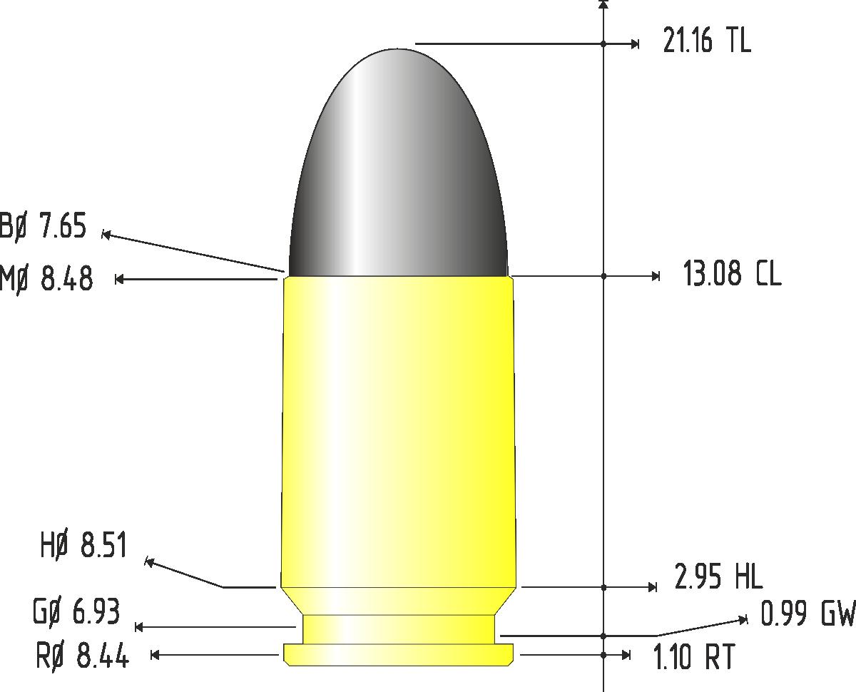 7.65x21 parabellum | энциклопедия вооружения