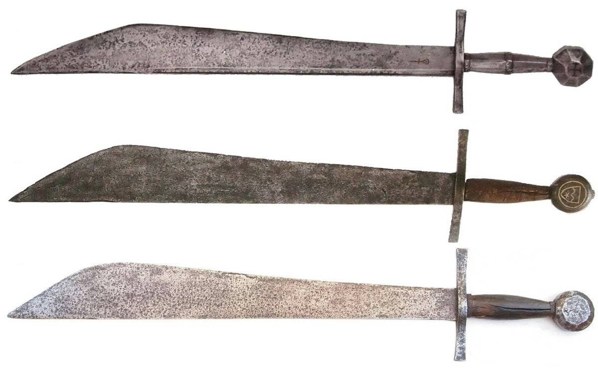 Фальшион — история меча для простого народа
