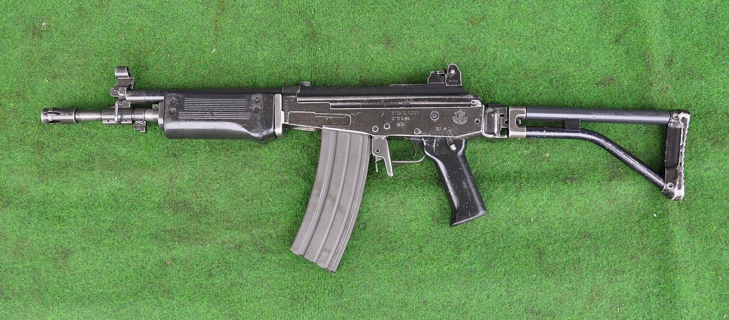 Видео: штурмовая винтовка galil