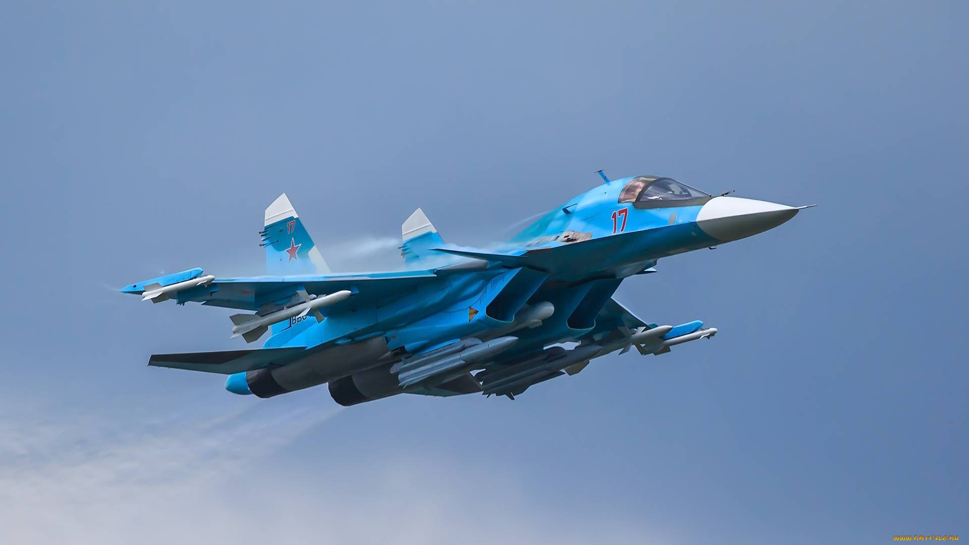 Су-34: новейший российский бомбардировщик