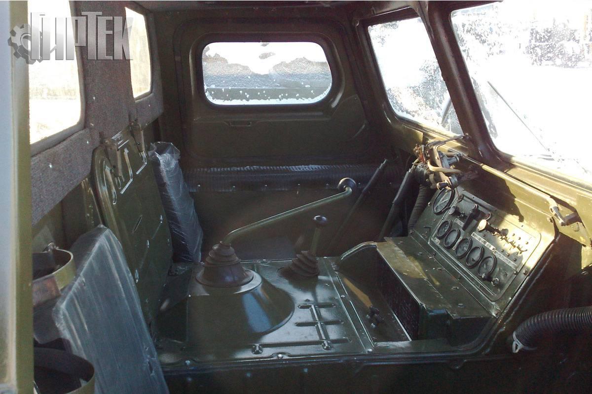 Плавающий гусеничный транспортер газ 71