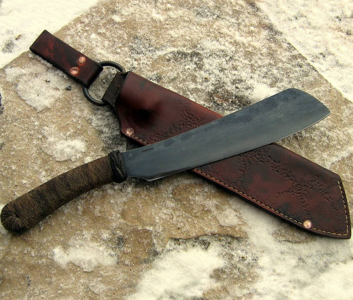Village parang machete
