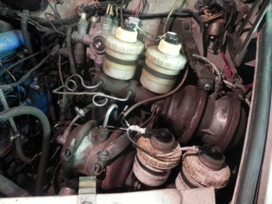 Руководство   зил-5301. агрегаты гидравлической системы тормозов