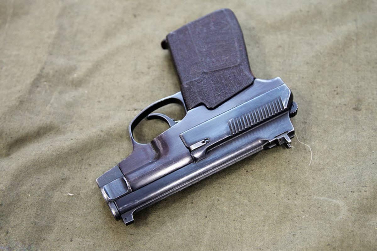 Пистолет оц-27 бердыш ттх. фото. видео. размеры. скорострельность. скорость пули. прицельная дальность. вес