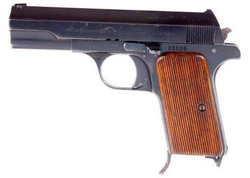 Пистолет webley & scott m1912 hammerless