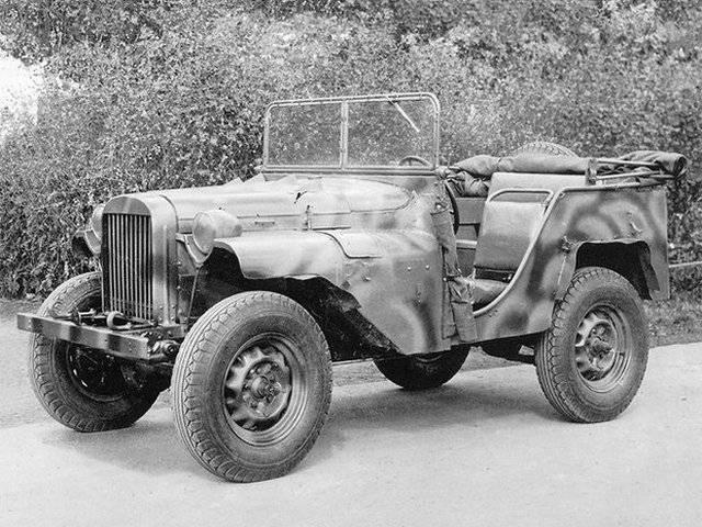 ГАЗ-67 – младший брат знаменитой шишиги