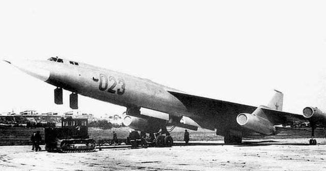 Дсб-17. альтернативный первый советский реактивный бомбардировщик. мясищев. ссср. 1945-46 г.