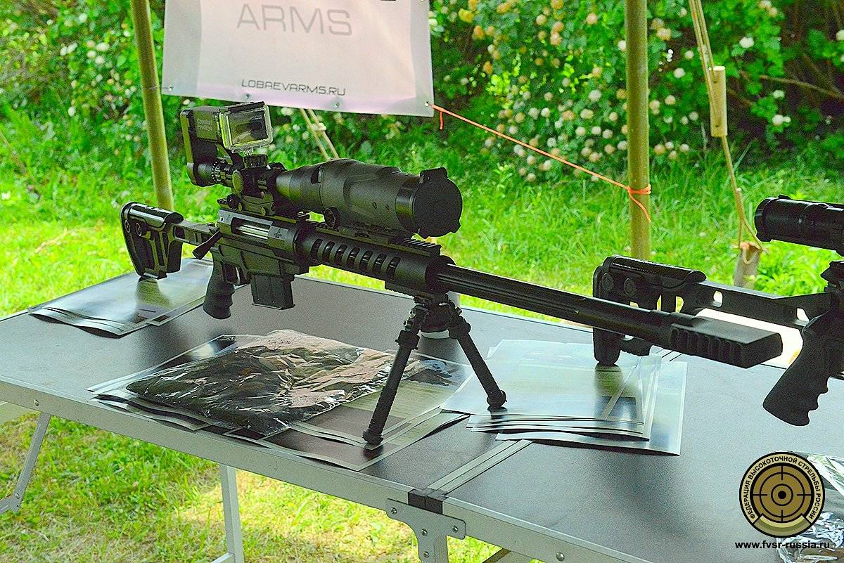 Снайперская винтовка Lobaev Arms ТСВЛ-8 STALINGRAD