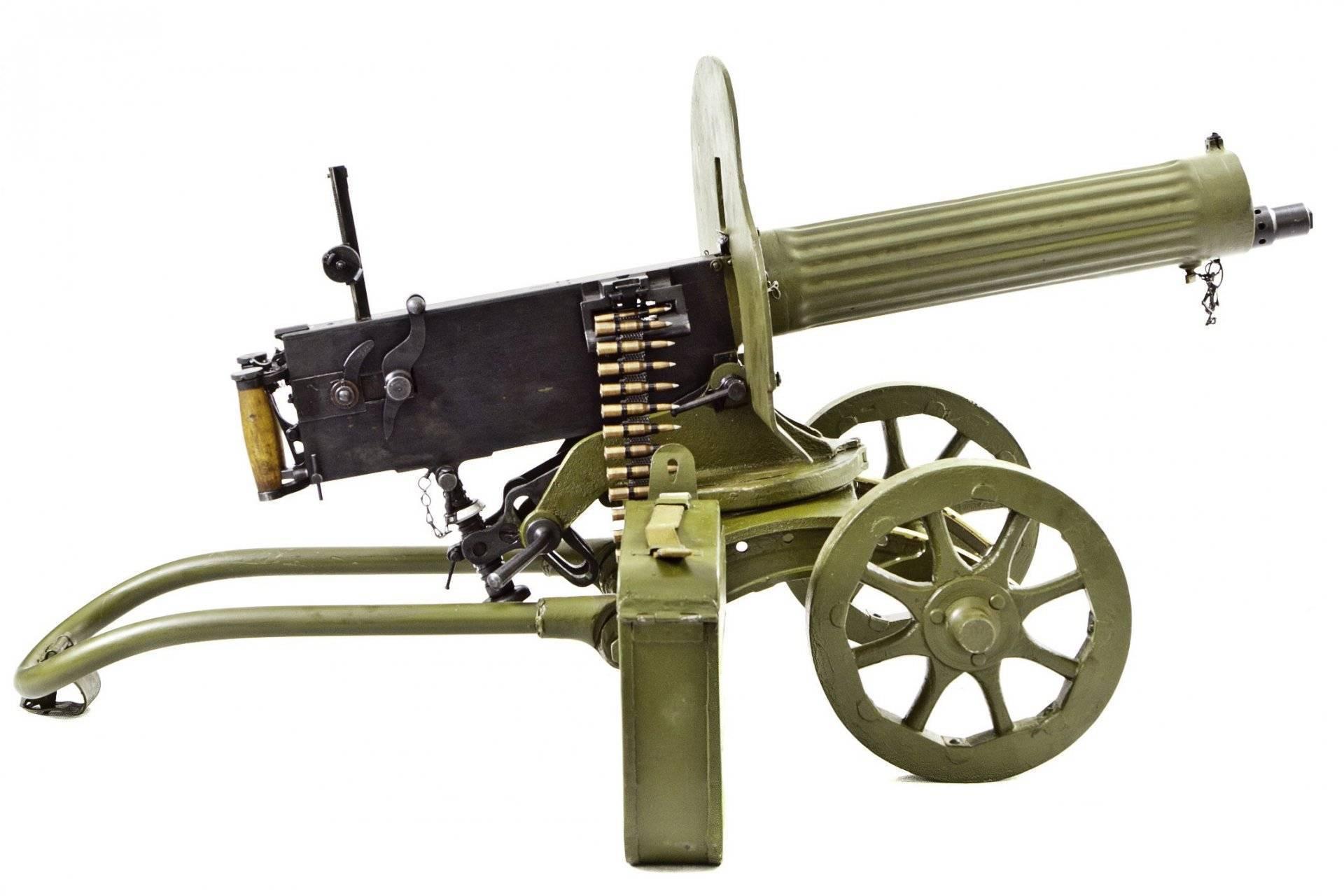 Пулемет максима: первый в мире, легендарный в россии