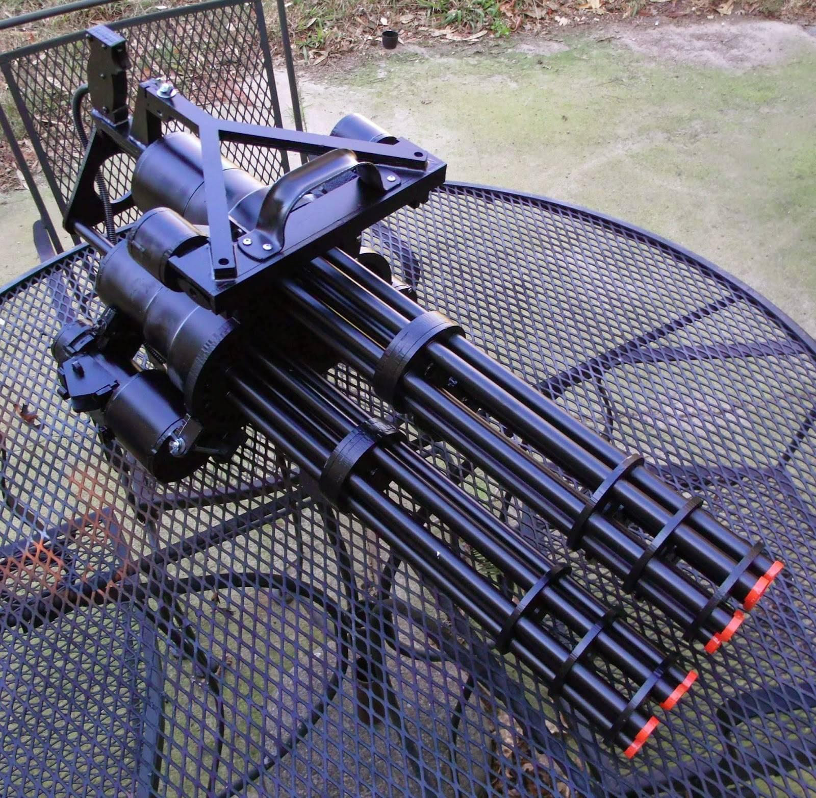 Пулемет Гатлинга: первая карусель смерти