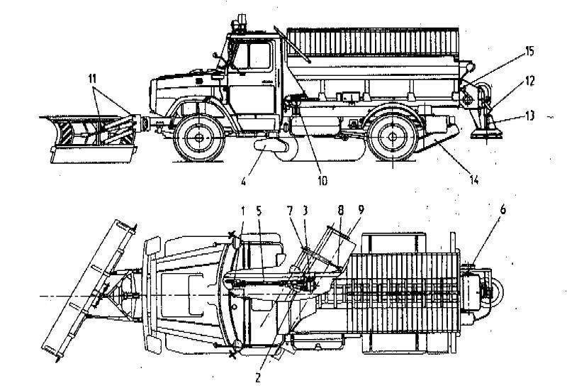 Зил 431412 цистерна технические характеристики
