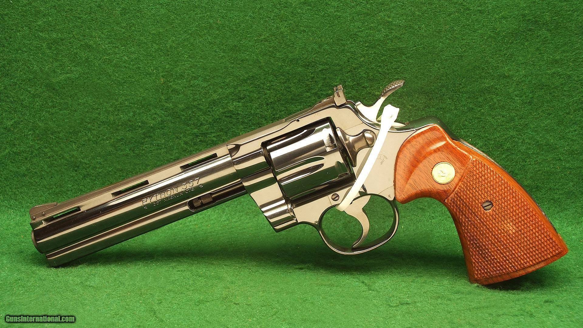 Colt python - internet movie firearms database - guns in movies, tv and video games