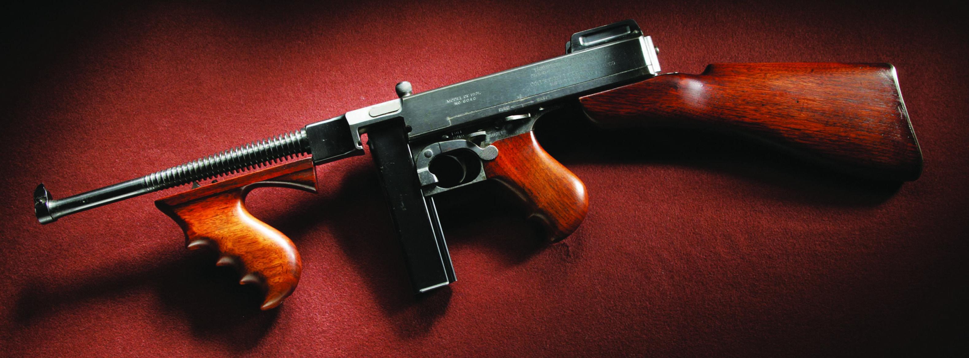 Пистолет-пулемёт томпсона