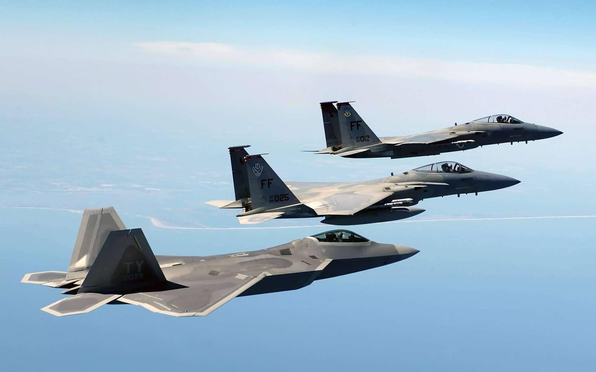 F-22 «Raptor» – хищник защищающий интересы США