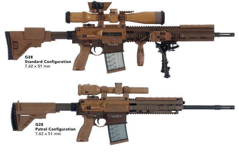 Снайперская винтовка Heckler und Koch HK G28