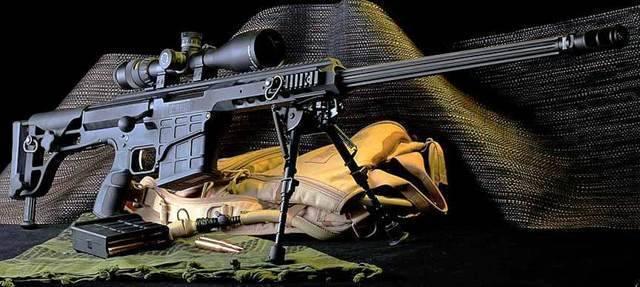 Крупнокалиберная снайперская винтовка barrett m95