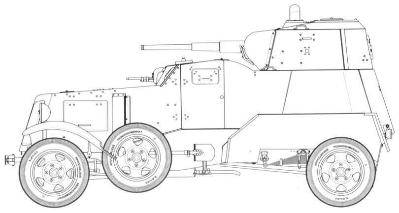 Средние бронеавтомобили баи,ба-3,ба-6 | армии и солдаты. военная энциклопедия