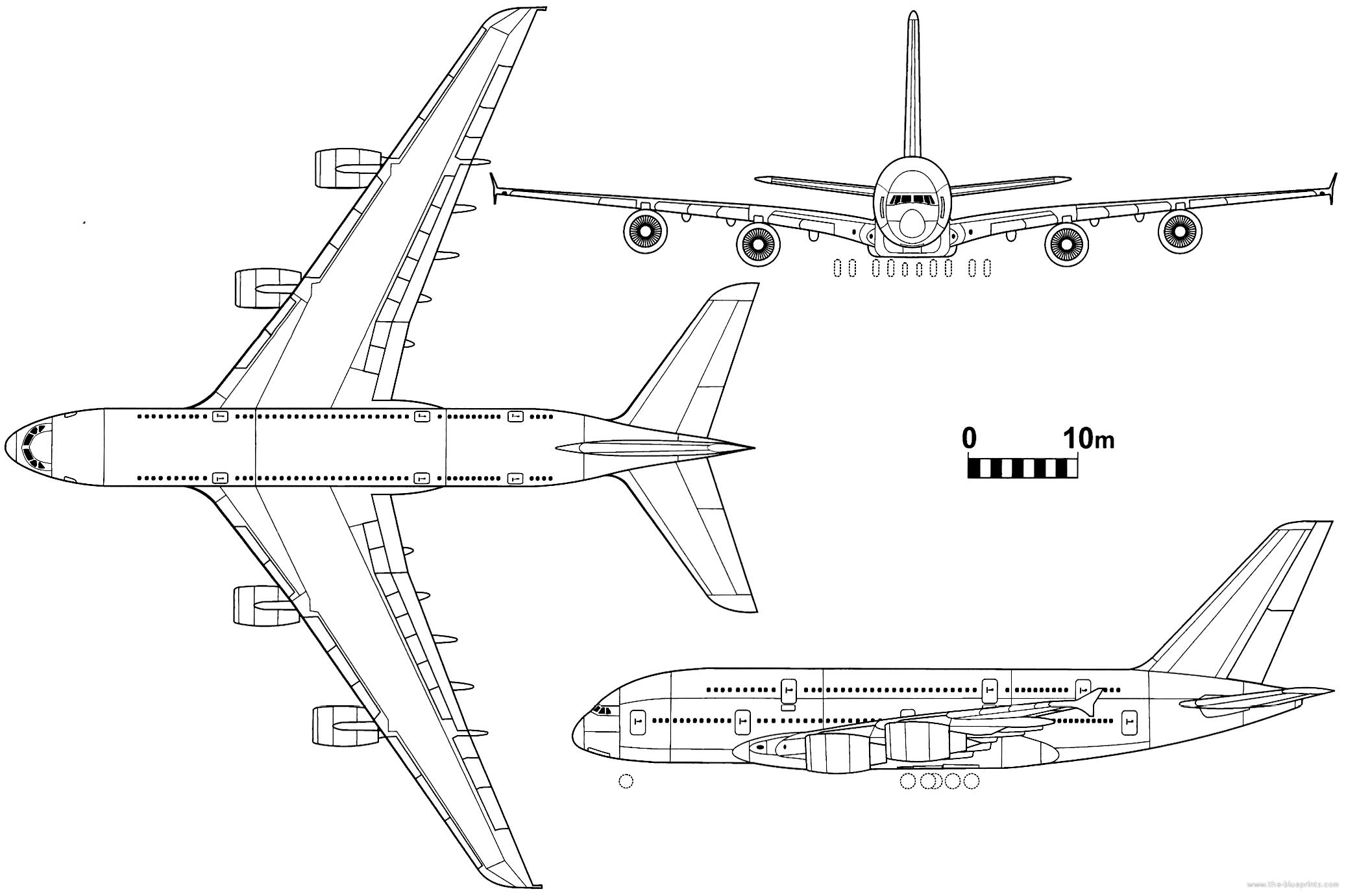 Airbus a380: обзор самолета, схема салона и лучшие места