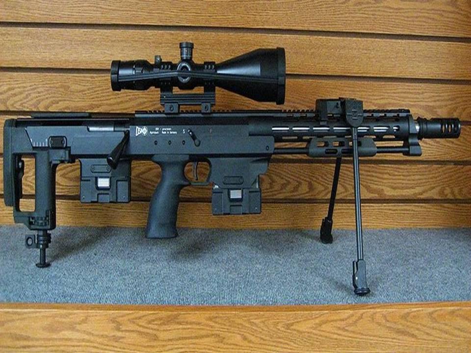 Снайперская винтовка  dsr-1 | мастерружьё
