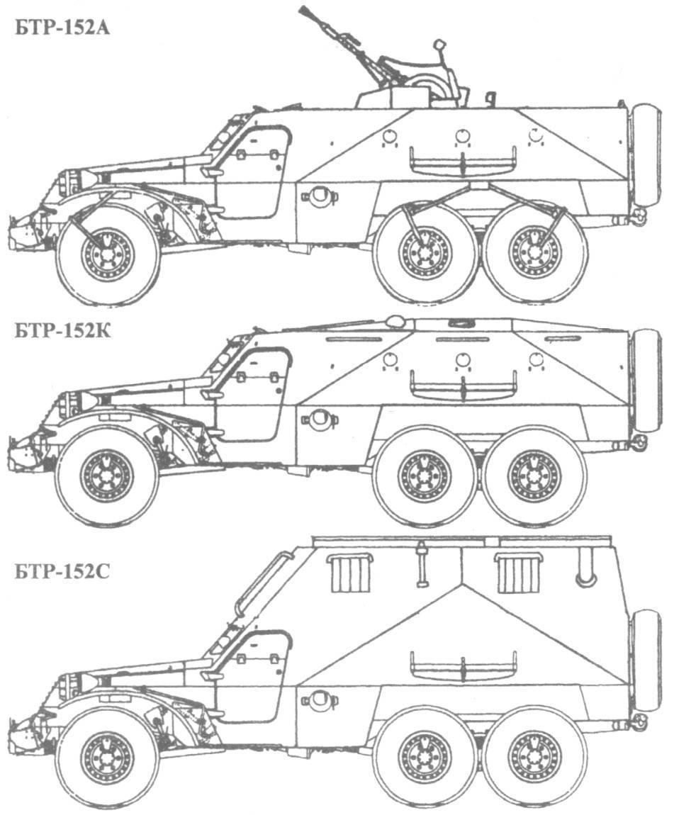Бронетранспортер бтр-152 ссср